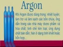 Khí Argon, cung cấp khí Argon, khí Argon hàn tig