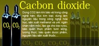 Khí CO2, khí CO2 hàn MIG, cung cấp khí CO2
