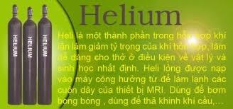 Khí Heli, bình khí Heli, khí Heli 5.0(99.999%)